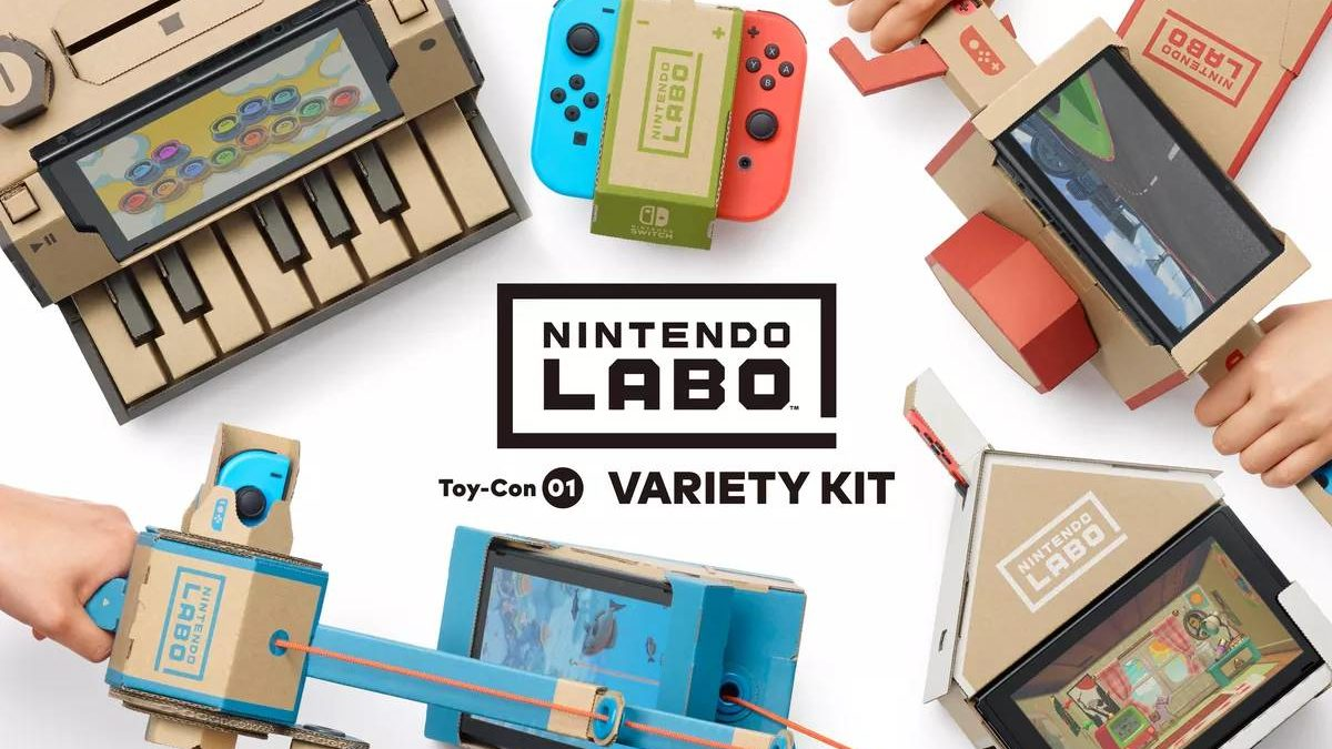 What is Nintendo Labo? – How it works, Nintendo Labo and cardboard, and More