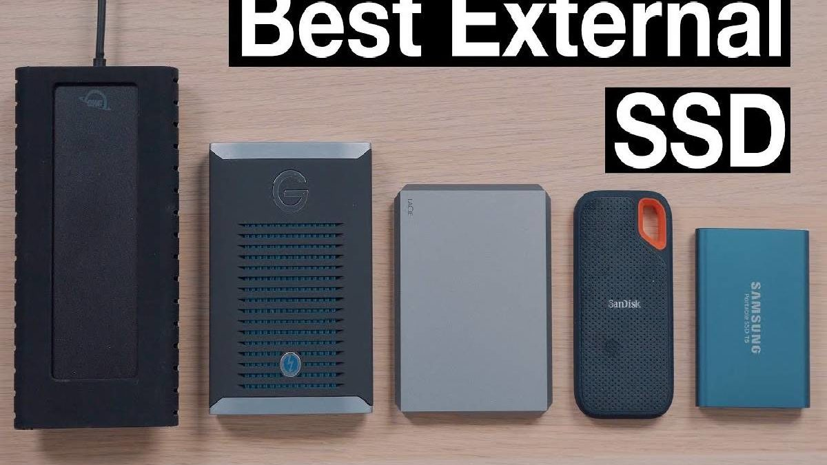 Best External SSD – SSD Hard Drives, Advantages, and More