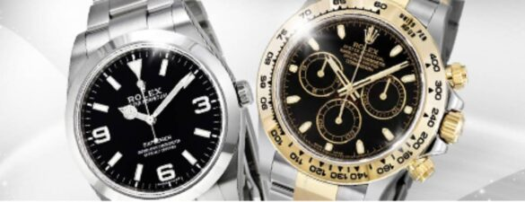 Rolex The Luxurious Air King Vintage Timepiece
